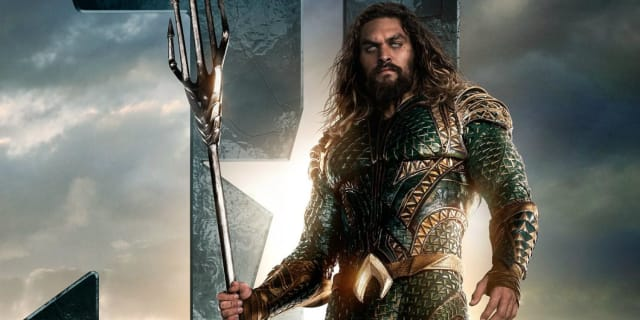 Jason Momoa as Arthur Curry/Aquaman.