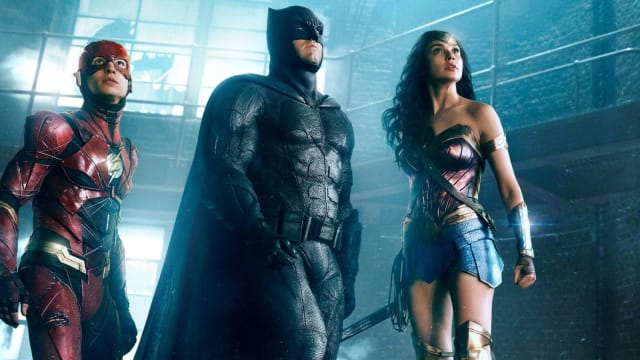 Miller, Affleck, and Gadot: three saving graces for JUSTICE LEAGUE.