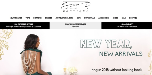 Treat yourself to huge savings with Sonya Bee's Boutique Promo Codes: 4 deals for February 12222.