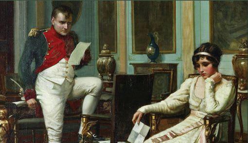 O al menos eso decía Platón. Napoleón se enamoró perdidamente de una mujer cuyos encantos, belleza e inteligencia cautivaban a todo el que la conocía. El estrambótico encanto de Josefine volvía loco de amor a Napoleón, pero también lo convertían en un monstruo celoso e inseguro.
