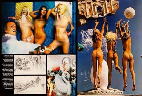 Absolutamente todos los elementos presentes en las fotografías tienen algún significado, Dalí no los explicó a totalidad pero aseguró que todos están correlacionados.