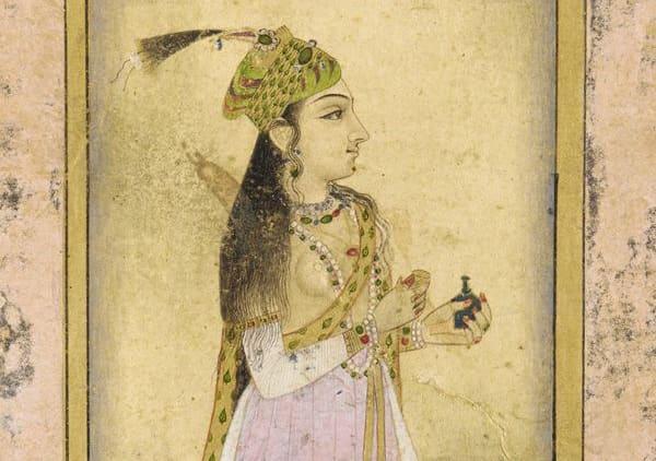 უდაიპური - მაჰალ საჰიბა, უცნობი ავტორის ნახატი, 17-ე საუკუნე