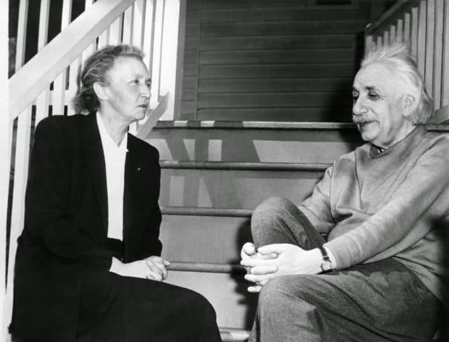 Ambos solían tener conversaciones científicas y de sus vidas privadas.
