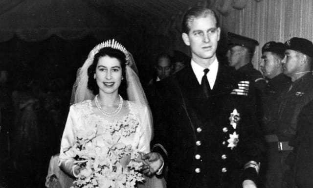 Boda Real, reina Isabell II y príncipe Felipe