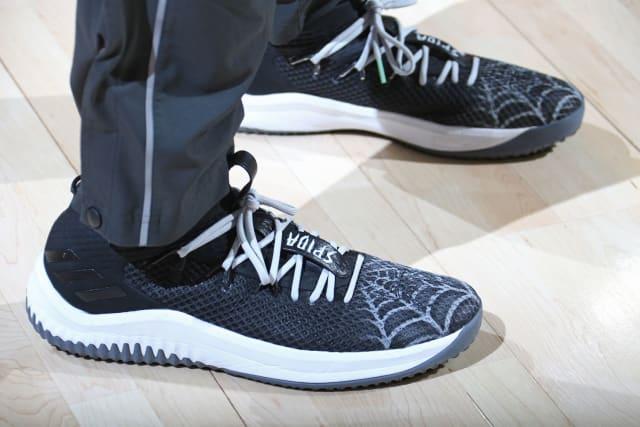 """the latest 8a301 741d6 Adidas Dame 4 """"Spida custom"""""""