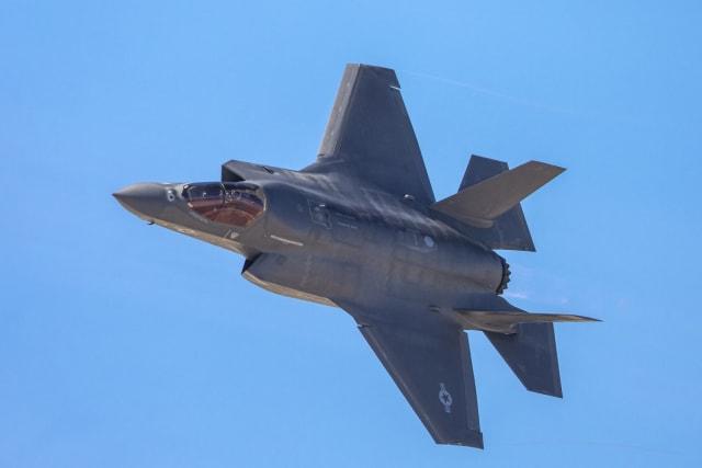 מטוס קרב F-35. גם בו ישולבו יכולות גרעיניות