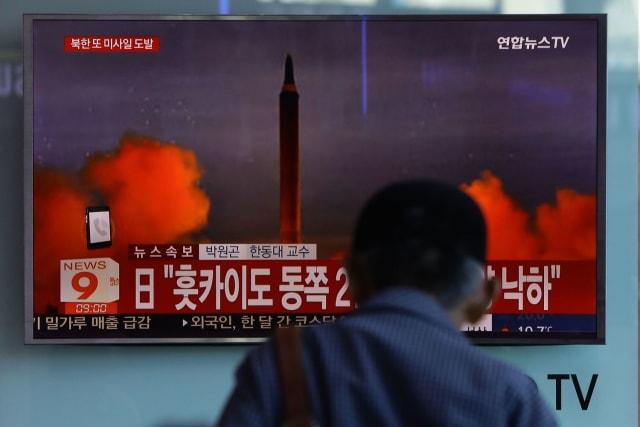 """שיגור צפון קוריאני. """"במרחק חודשים מאפשרות להפציץ את ארה""""ב"""
