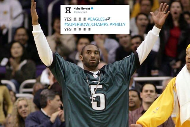 Ésta figura histórica de los Lakers nació en Filadelfia, por lo que le agarró una gran pasión al equipo de la NFL de la ciudad, las Águilas, que por cierto le dieron una enorme felicidad hace poco al ganar el Super Bowl LII.