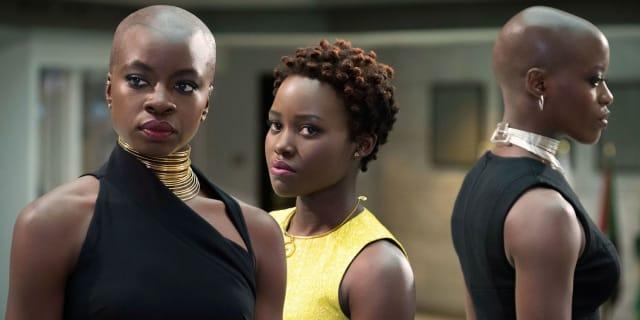 Danai Gurira, Lupita Nyong'o, and Florence Kasumba dominate Black Panther with their incredible performances.