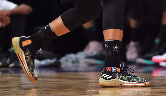 Which NBA player had the best sneakers in the 2018 NBA All-Star Game  c8abfb472