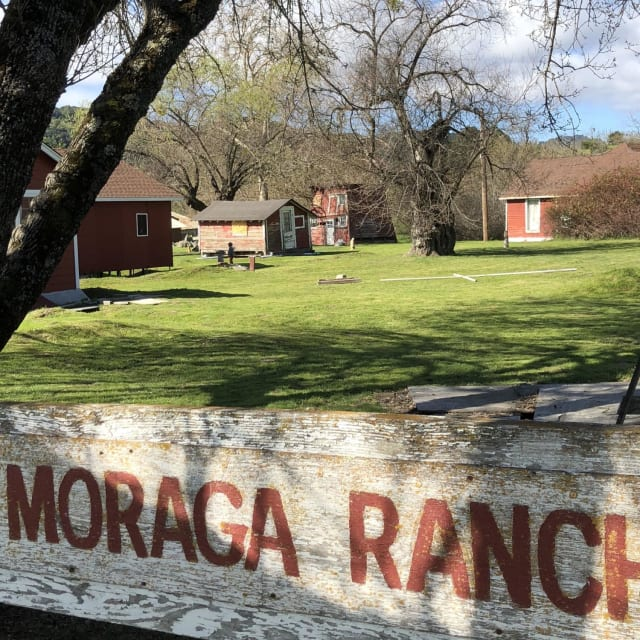 We're not really sure what this is used for now, but Moraga Ranch looks pretty awesome!