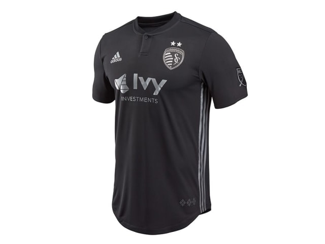 8551533c1 Black is the colour for Sporting KC s new second strip