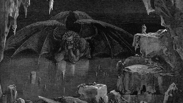 Es en el capítulo 13 del Apocalipsis donde se menciona por primera vez al diablo como principio de todo mal sobre la tierra.