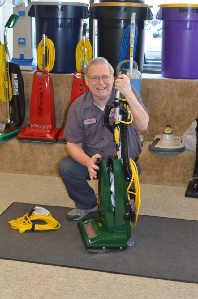 Carpet extractors, auto scrubbers, hi speeds, low speeds, sweepers, and vacuums!  Our certified trained technicians can get your machine up and running.  Daily, weekly, and monthly rentals are available for most machines.  So not only do we sell and rent machines we can fix them for you too.  Have a lot of equipment?  Ask us about a maintenance program where we take care of your machines for you.