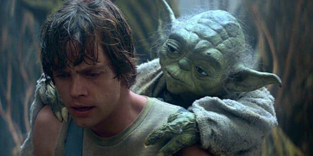 """""""Hazlo o no lo hagas, pero no lo intentes"""". - 'Star Wars: Episodio V - El Imperio contraataca'"""