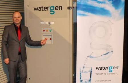 Maxim Pasik, executive chairman of Water-Gen LTD.