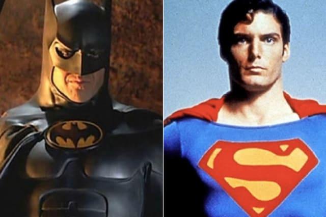Michael Keatons Batman V Christopher Reeves Superman