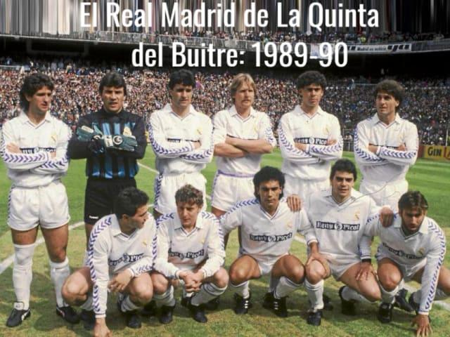 Resultado de imagen de REAL MADRID LIGA 1989.90
