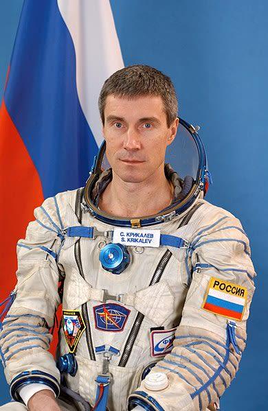 Serguéi Krikalev.