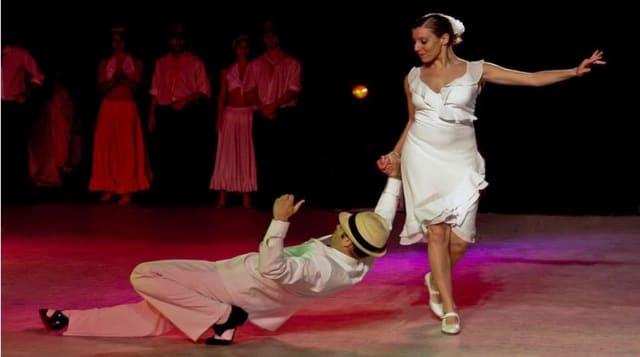 Es un ritmo y un baile rápido de origen cubano creado por el compositor matancero Miguel Faílde y engendrado por otro género cubano llamado danza. Es bailado entre pareja con movimiento muy delicados, vertiginosos pero coreográficos. En Cuba se interpreta con mayoría de instrumentos de viento, con flauta, violines, timbales y percusión cubana.
