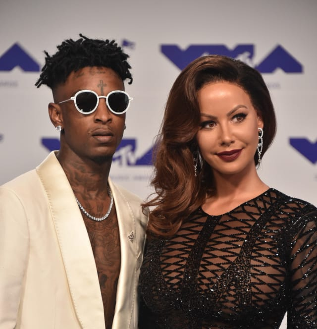 new concept 7916c bde56 Amber Rose and 21 Savage ended their 8-month relationship back in March,  but Muva has made it clear that her feelings still remain.