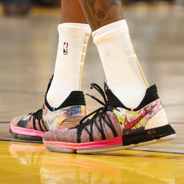 "promo code f20ab 00e5e Kevin Durant – Nike KD 10 ""What The"""
