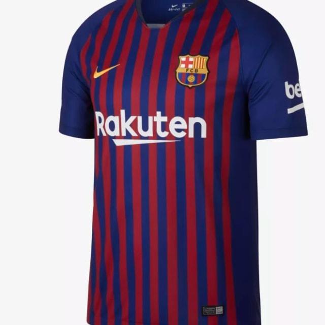 El ránking de las nuevas camisetas de los grandes del fútbol mundial ... 1204d02b631