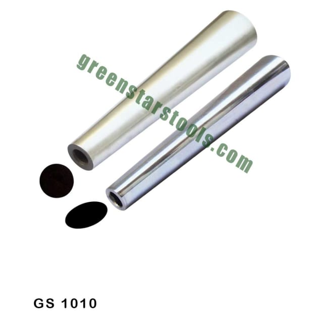 """BRACELET MANDREL OVAL SHAPE SET OF 2Description :-This set of bracelet mandrel oval is used for shaping and forming bracelets from Gold, Silver, Copper and Other Metals. A must have for every jewelry maker. High quality manufactured and durable.GS 1010 Bracelet Mandrel Set of 2 Pcs Round & Oval Size: 15""""x 3"""" ( #GS 1000+GS 1011)Please Subscribe My Channel : https://www.youtube.com/watch?v=AuwLi ... https://www.youtube.com/channel/UC4QZxohGbebMS1nJDekuUAw **SUBSCRIBE ** LIKE ** COMMENTS ** SHAREDGREEN STARS SA PVT LTDCorporate Office:504 A│Dilbagh Nagar Extn│Jalandhar -144 002│Punjab│ India 