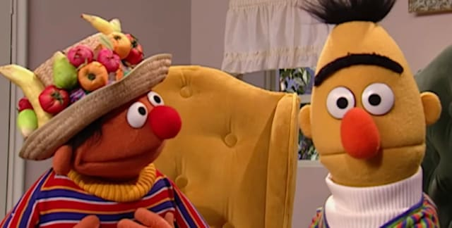 Bert and ernie gay sex
