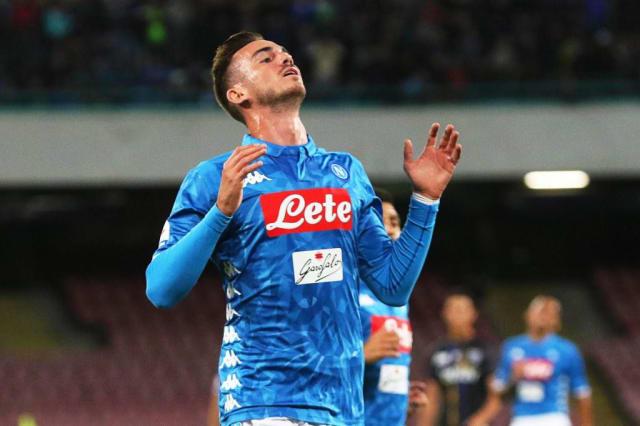 El Nápoles pagó 30 millones por Fabián Ruiz. Ha jugado 110 minutos en la Serie A en dos partidos.