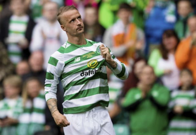 """Leigh Griffiths was """"hammered"""" at half-time of Scotland's friendly defeat to Belgium by the management according to Michael Stewart. (BBC)"""