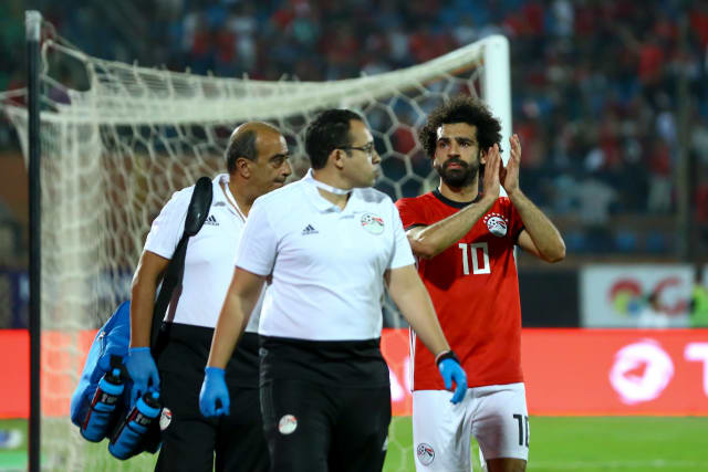 Despite scoring in Egypt's 4-1 win over Swaziland, Salah was forced off in stoppage time with a muscle strain. He returned to Liverpool at the weekend and looks set to miss their upcoming fixture away at Huddersfield.