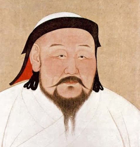 Kublai Khan, the grandson of Genghis Khan, continued to expand the Mongolian Empire. (Public Domain picture via Wikipedia)