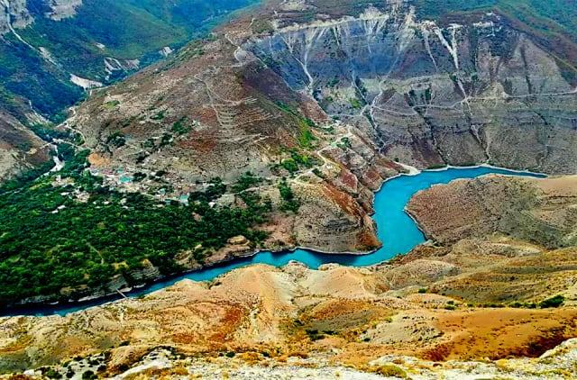 Canyon Sulak - foto di Luca Pingitore