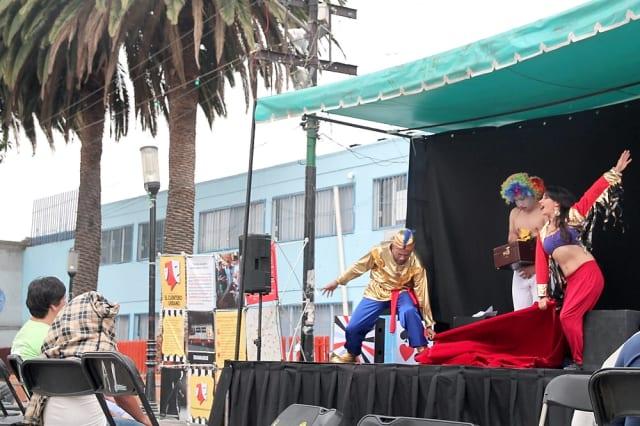 En 2016, se presentaron obras de teatro itinerantes en la Plaza cívica de San Pedro Mártir, en Tlalpan.