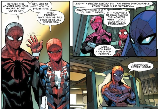Meet The New Best Spider-Man: Spiders-Man, A Man Made of Spiders