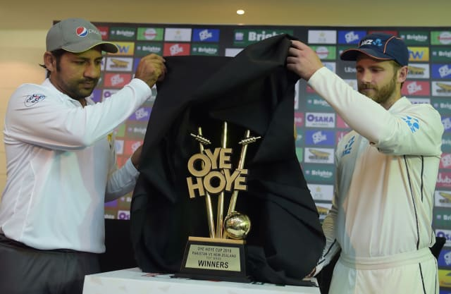 'Oye Hoye' is an expression used when you're impressed with something. But that ain't an impressive trophy.