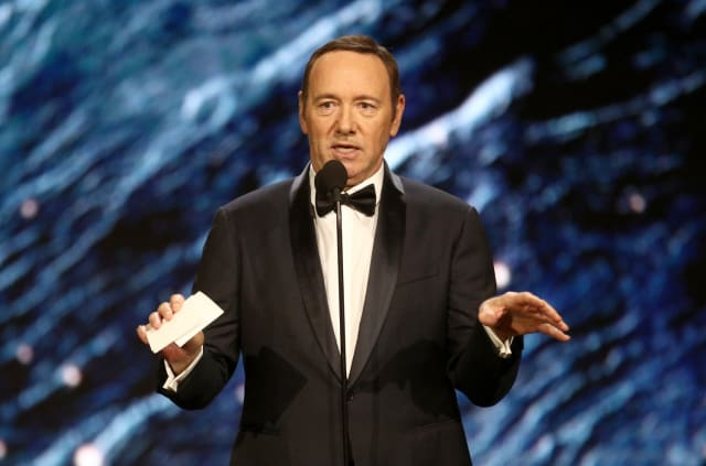 Kevin Spacey was accused ofsexual misconductin 2017, an allegation he has denied. He has sincehad his highly successful role inthe US TV show House ofCards terminated byNetflix.The scandal also prompted film director Sir Ridley Scott toremove Spacey's performance fromAll the Money inthe World and re-shoot his scenes with Christopher Plummer. 1992 sexual assault claims againstthe actor have been dropped byLos Angeles authorities. However, a number ofother allegations are still investigated, including three inthe UK.