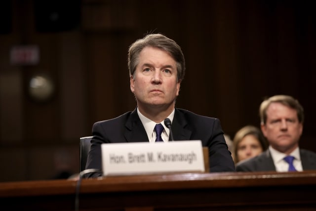 """Brett Kavanaugh, now a US Supreme Court judge, was embroiled in a sexual allegations scandal that saw mass opposition by largely women's rights acticivists to his nomination. Kavanaugh was accused by a Christine Blasey Ford, a psychology professor, of sexually assaulting her in high school. An FBI report, issued following hearings and interviews with both Kavanaugh and his accuser, exonerated the official of sexual assault claim.""""My family and my name have been totally and permanently destroyed by vicious and false accusations,"""" Kavanaugh said in his opening statement before the Senate Judiciary Committee."""