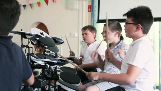 Scientists at the University of Chichester have found drumming for 60 minutes a week can benefit children diagnosed with autism and supports learning at school.