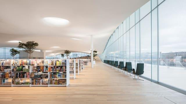 """El """"Book Heaven"""" cuenta con el """"balcón de los ciudadanos"""".-"""