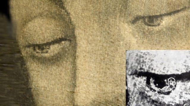 Varios estudios a la Tilma han demostrado que los ojos de la Virgen reflejan las figuras humanas, tal como si estuvieran vivos.