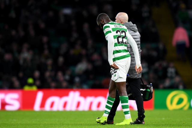 Celtic face an anxious wait to learn the extent of Odsonne Edouard's injury after their record £9 million signing limped out of the 3-0 win over Motherwell.  READ MORE>>>