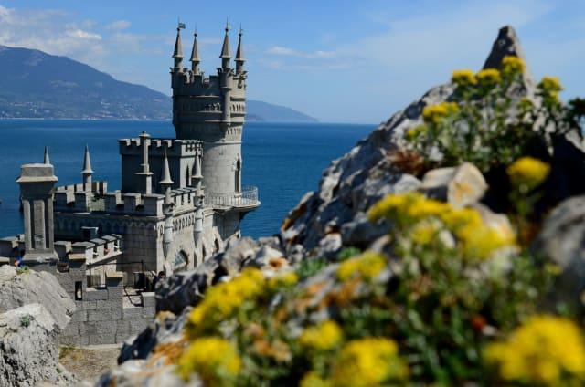 Castello 'Nido di rondine' in località Gaspra