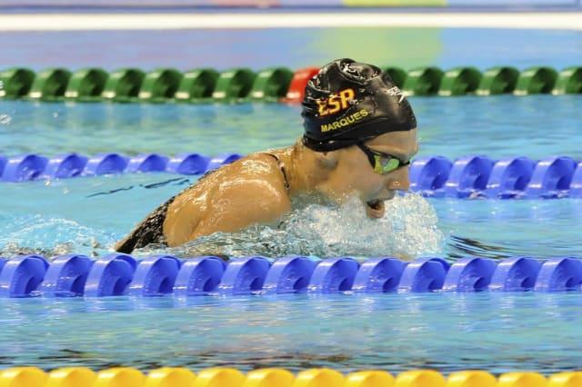 Nuria Marqués, en el Europeo de natación de Dublín de 2018. FOTO: CPE