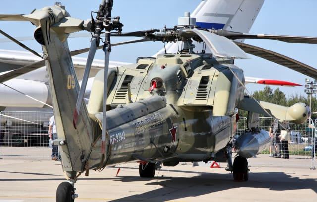 Mi-28NM también cuenta con los modernizados motores VK-2500P que ofrecen una mayor potencia, pero al mismo tiempo son más duraderos.