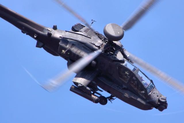 Helicóptero de ataque estadounidense AH-64D Apache Longbow
