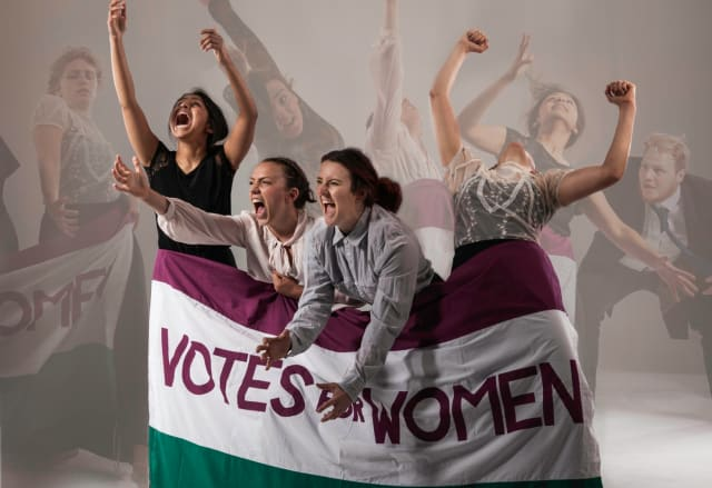Abbott Dance Theatre Presents Deeds Not Words at Customs House, South Shields, on Thursday, February 7.To Mark the 2018 centenary of the Representation of the People's Act 1918 (where some women over 30+ won the right to vote in the UK); Abbott Dance Theatre presents a moving, energetic piece of dance theatre highlighting and commemorating women's suffrage in the UK, featuring choral music and community dance.