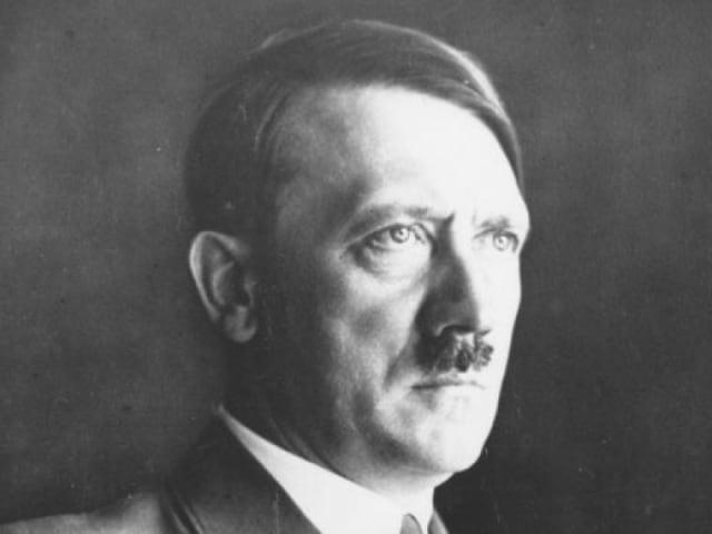 Adolf Hitler, Führer und Reichskanzler de la Alemania nazi.-
