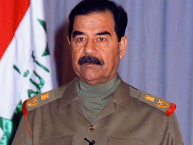 Sadam Husein Abd al-Majid al-Tikriti, expresidente de la República de Irak.-